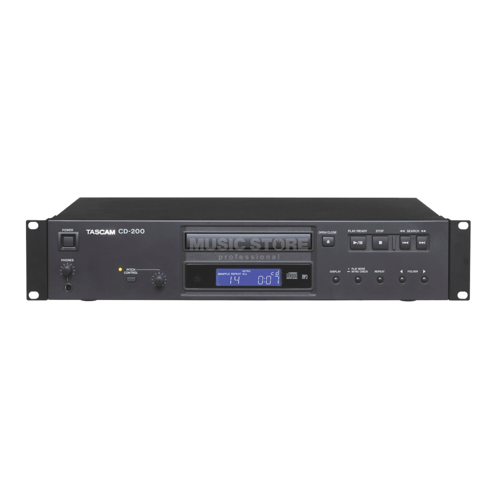 Tascam CD-200 CD Player, MP3/WAV Product Image