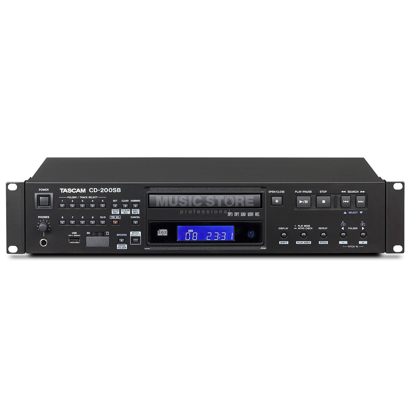 Tascam CD200SB Rackmount CD Player    Изображение товара