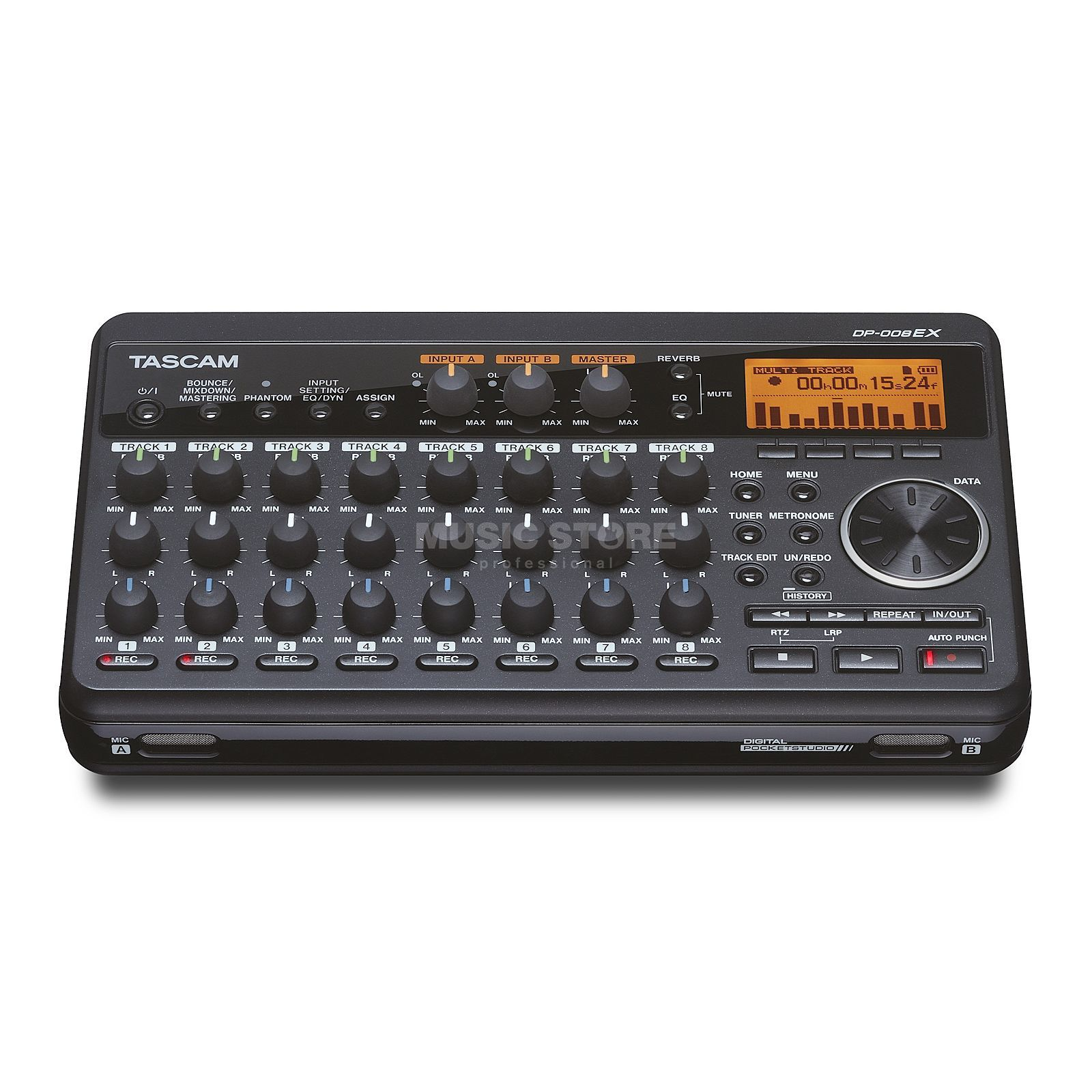 Tascam DP-008EX Digitales 8-Spur-Portastudio Product Image