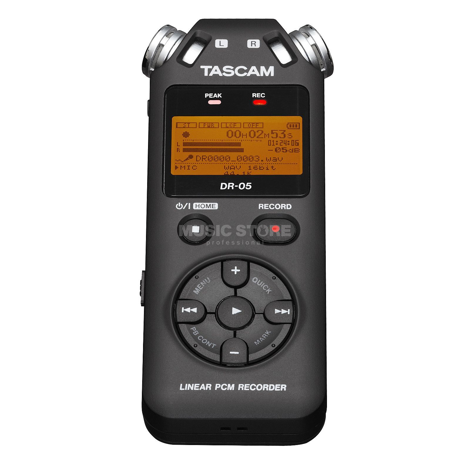 Tascam DR-05 Portable Digital Recorder Product Image