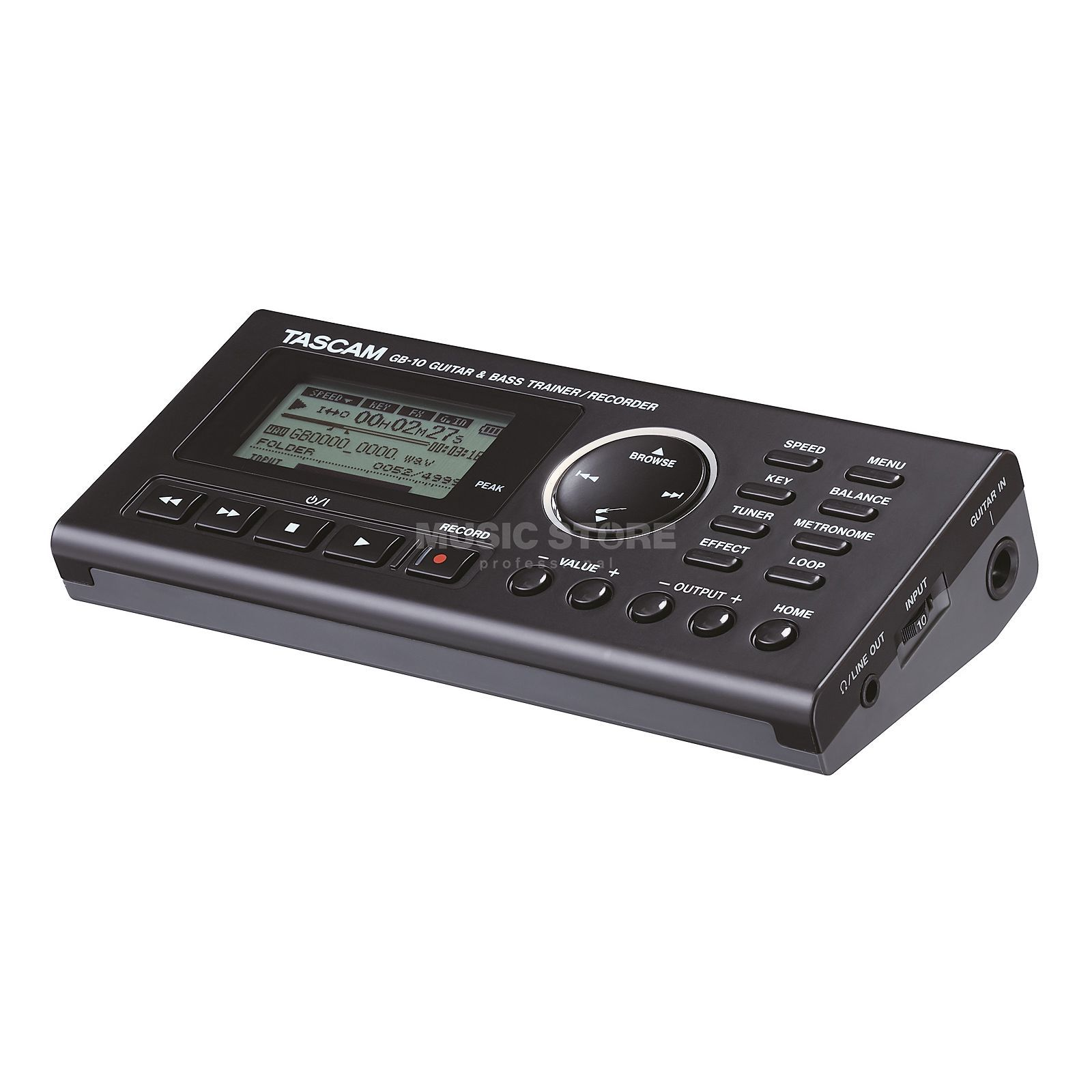 Tascam GB-10 Guitar/Bass Trainer & Recorder Produktbillede
