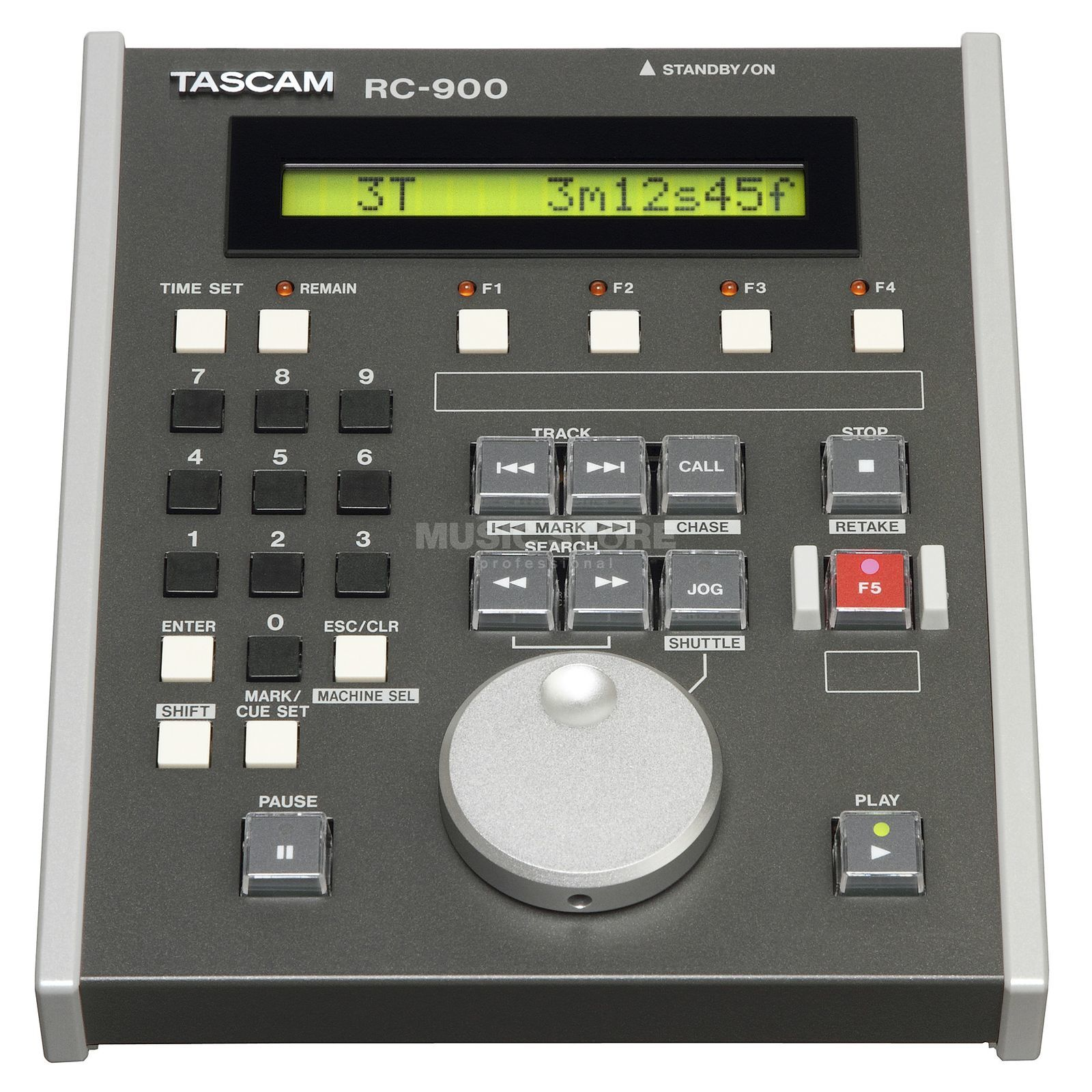 Tascam RC-900 Remote for Tascam Recorder/Player Produktbillede