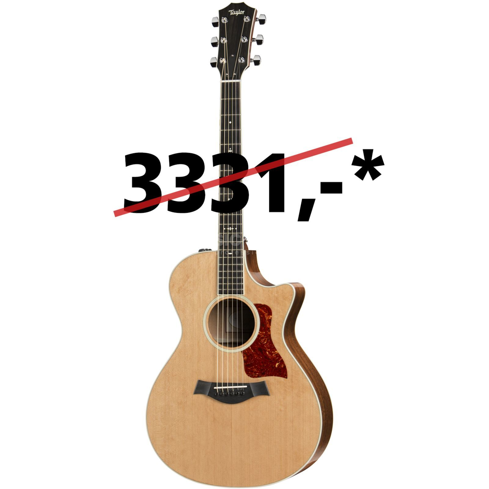 Taylor 512ce Grand Concert 2015 Model Natural Produktbild