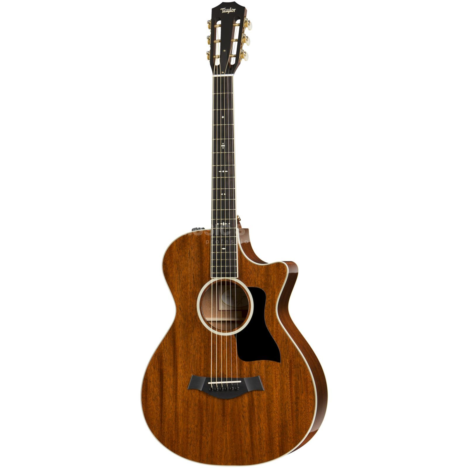 Taylor 522ce 12th-fret Mahogany 2015 Natural Produktbild
