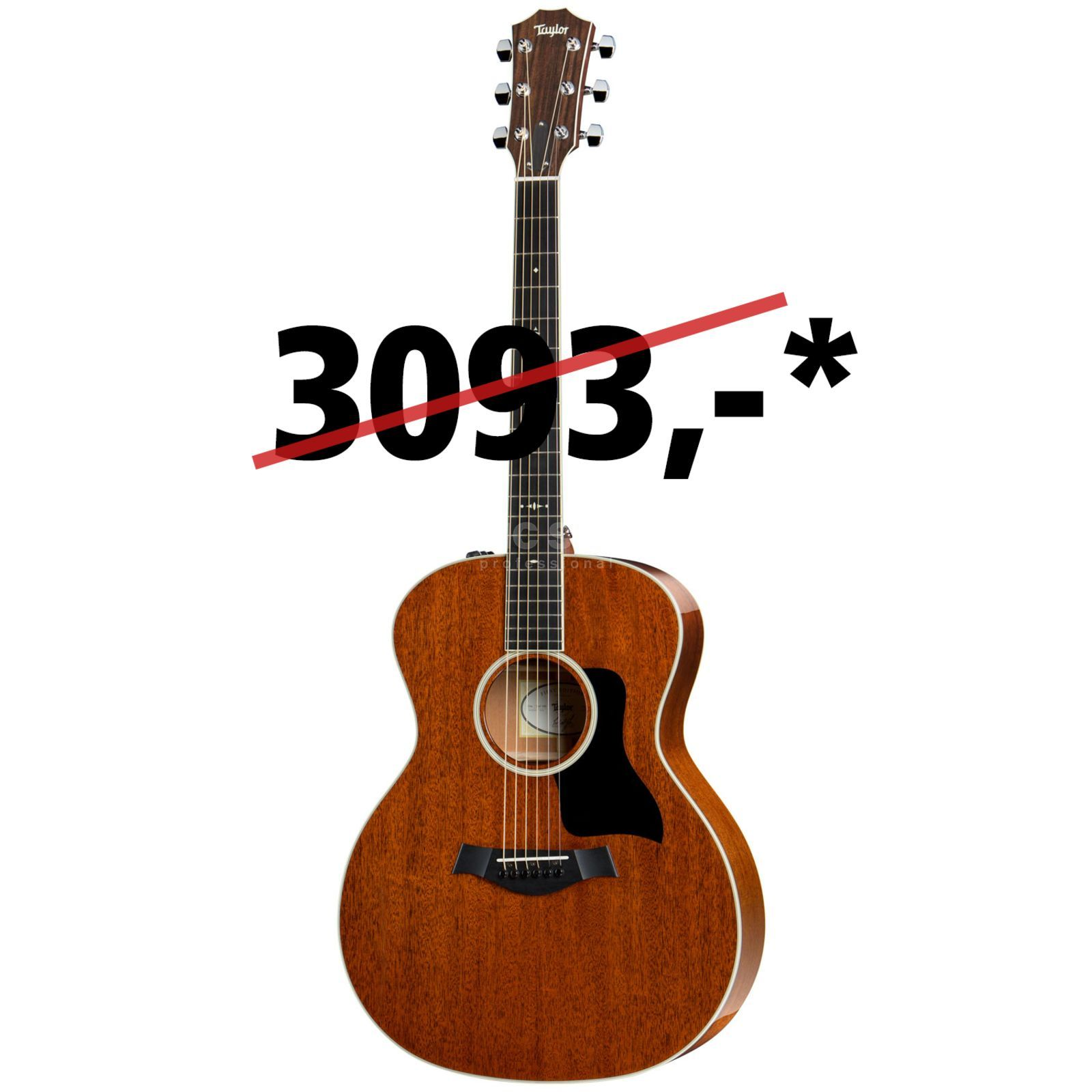 Taylor 524e All Mahogany Natural Produktbillede