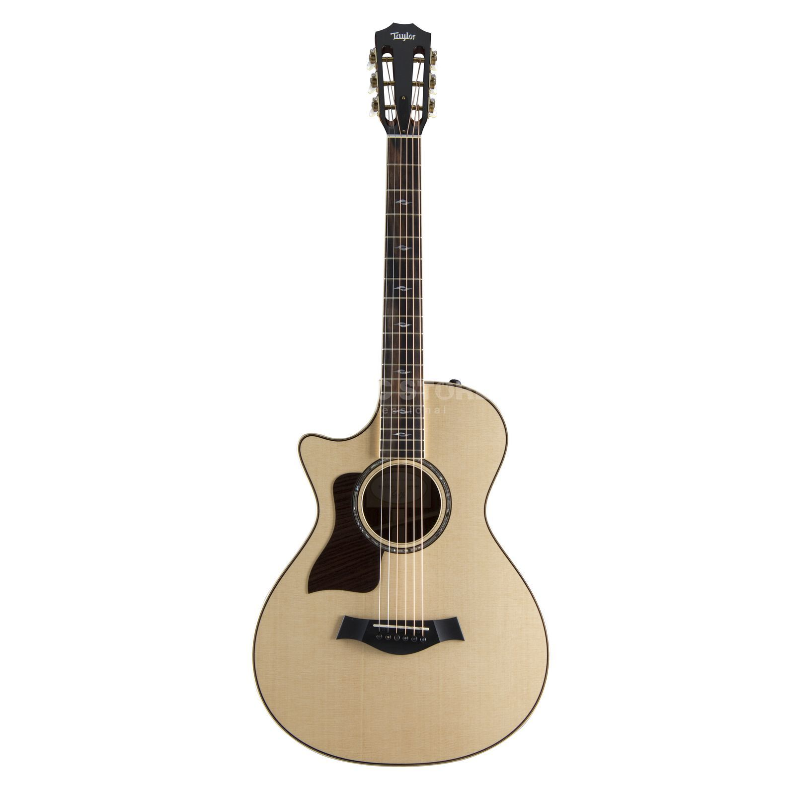 Taylor 812ce 12th fret Grand Concert Lefthand Natural, incl.  Case Produktbillede
