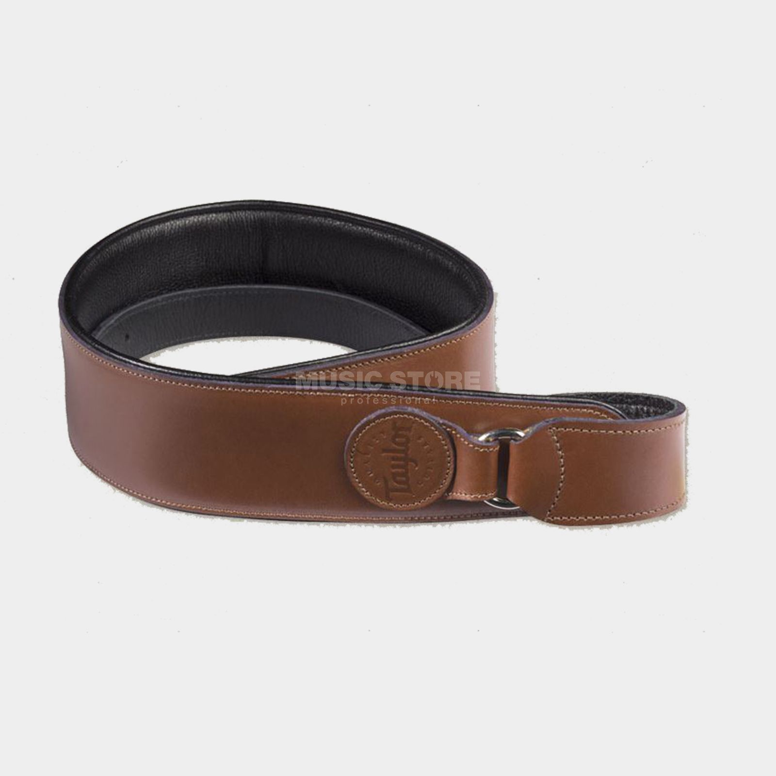 Taylor Leather Badge Strap Tan Produktbild