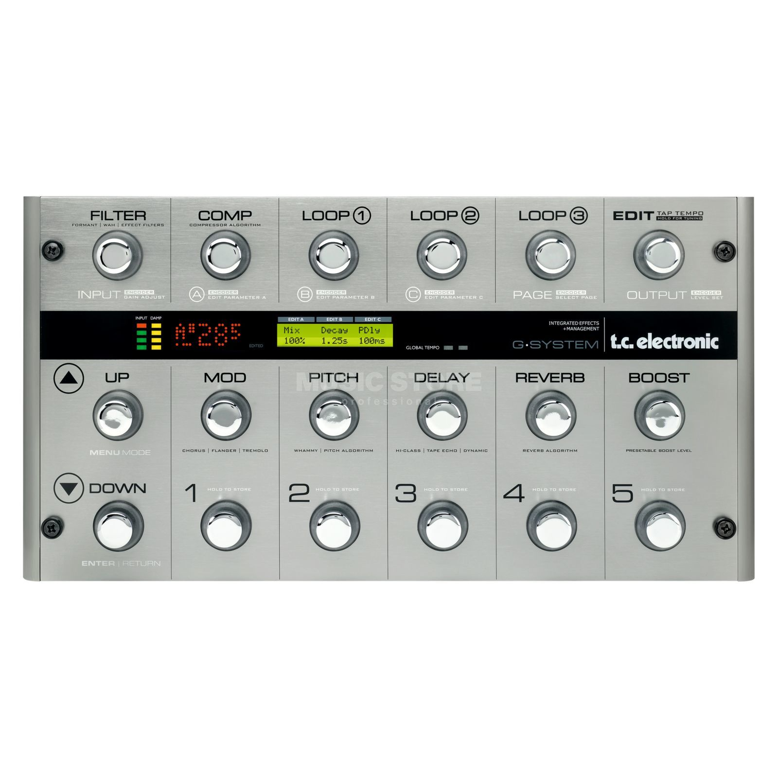 TC Electronic G-system Multi Effects Process or   Produktbillede