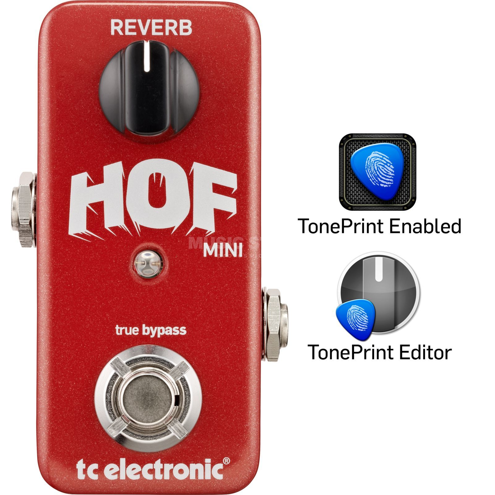 TC Electronic HOF Hall of Fame Mini Reverb Toneprint Enabled Produktbild