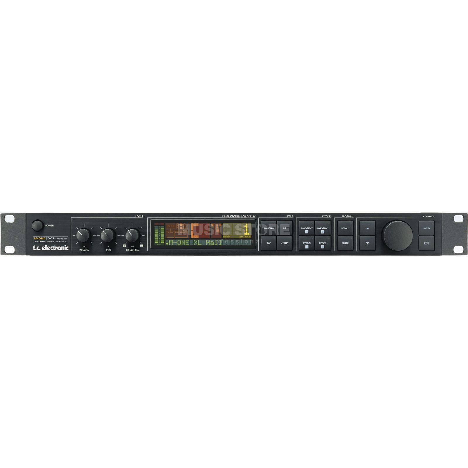 "TC Electronic M-One XL Multi-Effectprocessor 2-Ch.19"" 1HE symmetr Product Image"