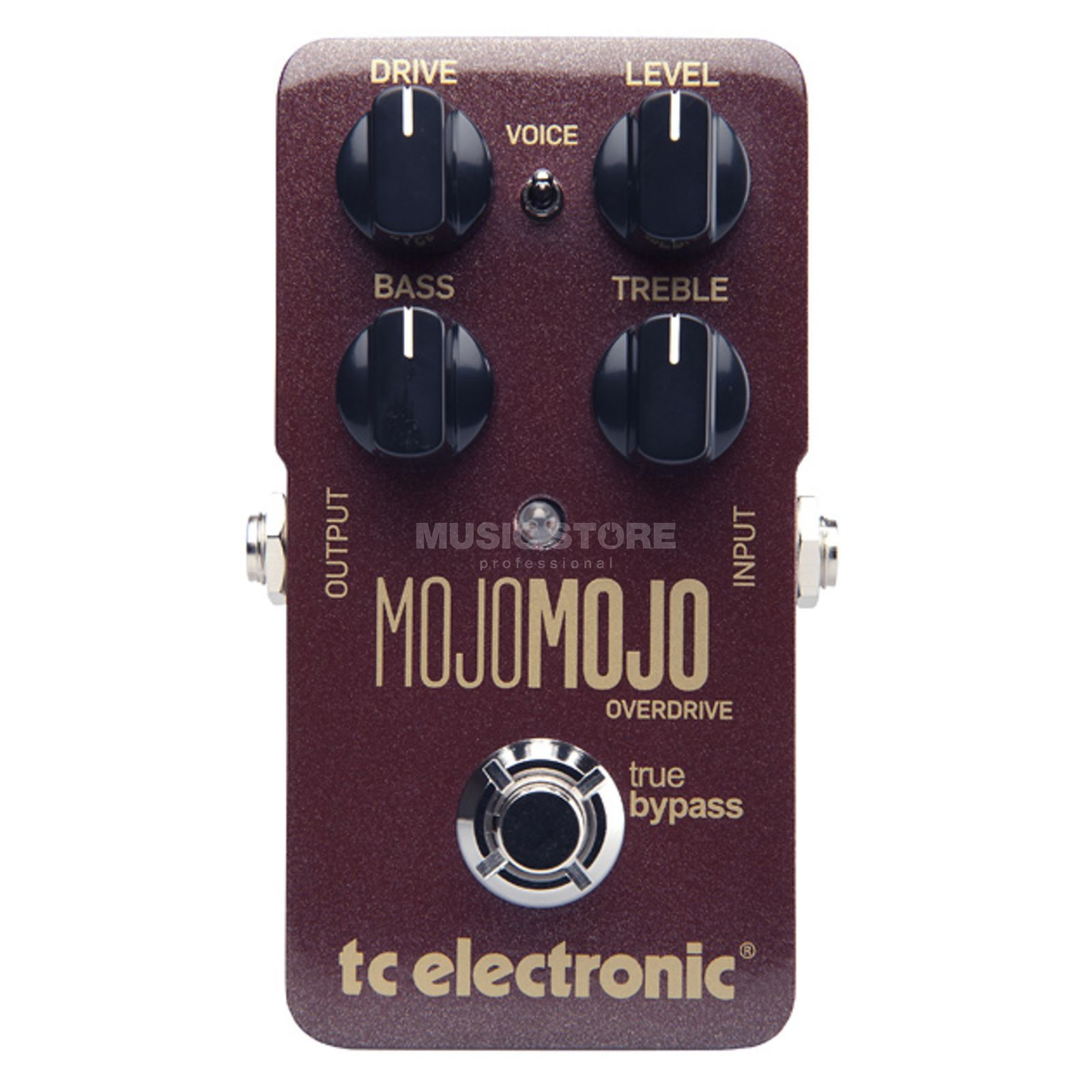 TC Electronic MojoMojo Overdrive Guitar Effe cts Pedal   Produktbillede