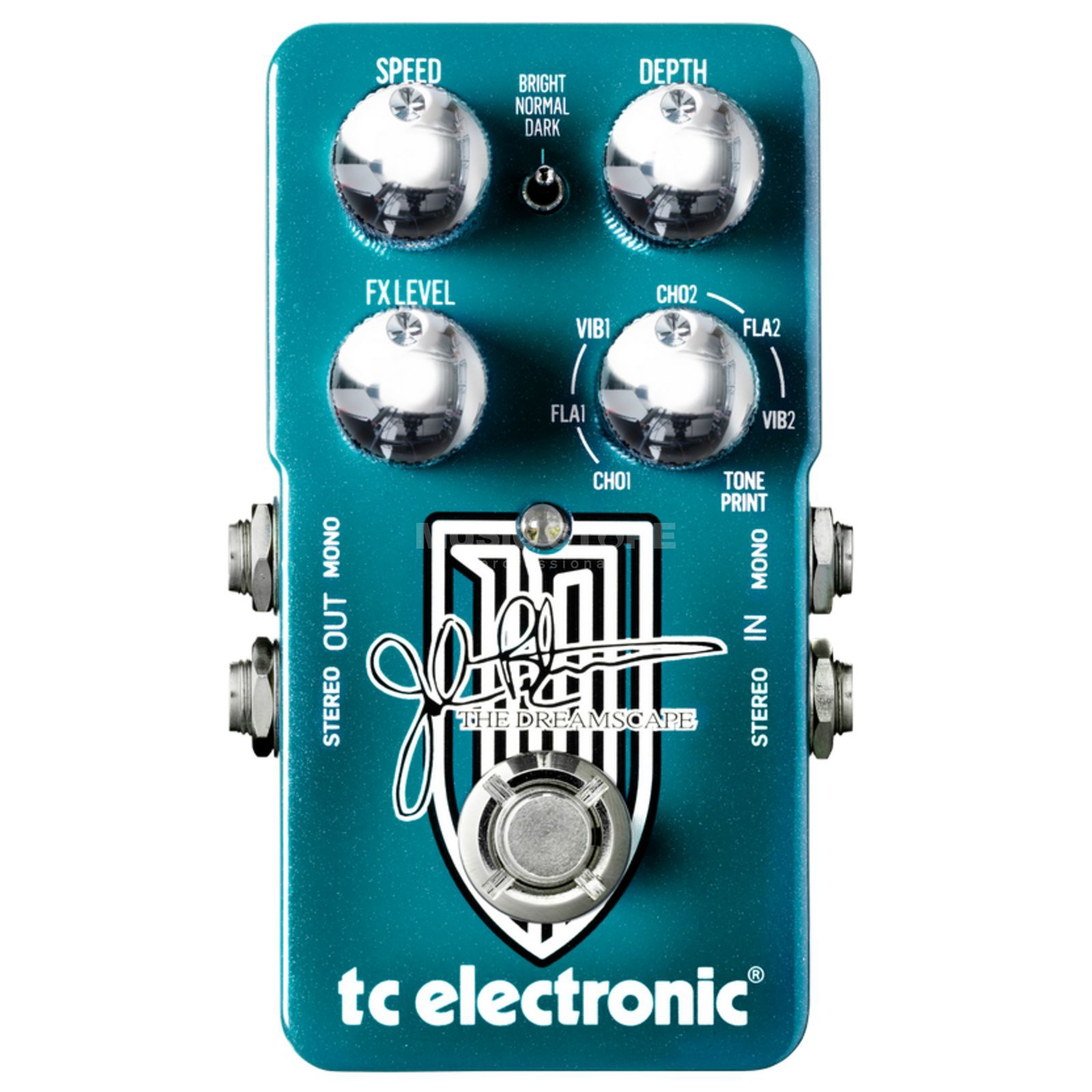 TC Electronic The Dreamscape John Petrucci G uitar Effects Pedal   Produktbillede