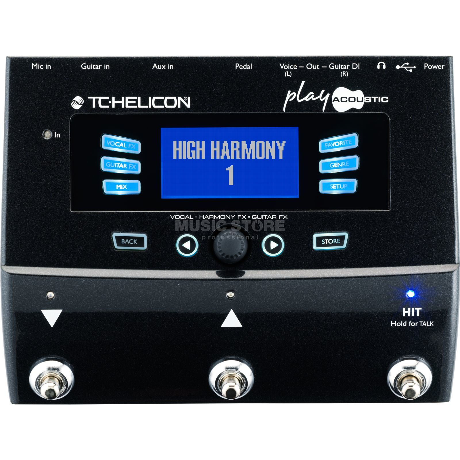 TC-Helicon Play Acoustic Presents For All Promotion Produktbillede