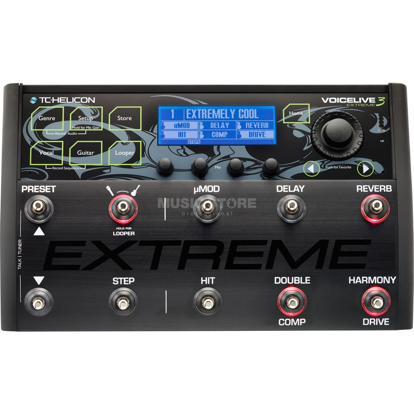 TC-Helicon Voice Live 3 Extreme  Produktbillede