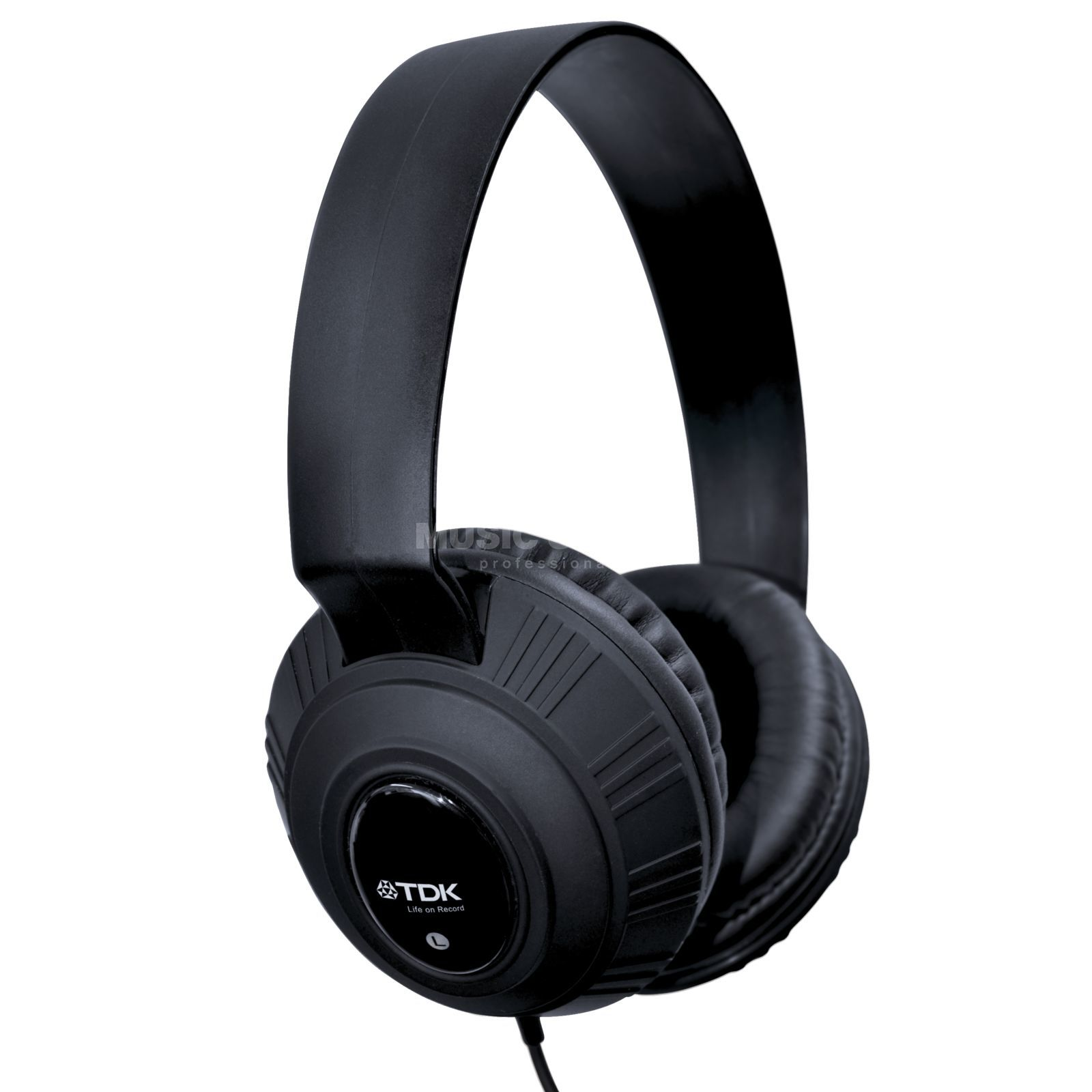 TDK MP-100 Headphone black, 1.2m, 3.5mm Jack Produktbillede