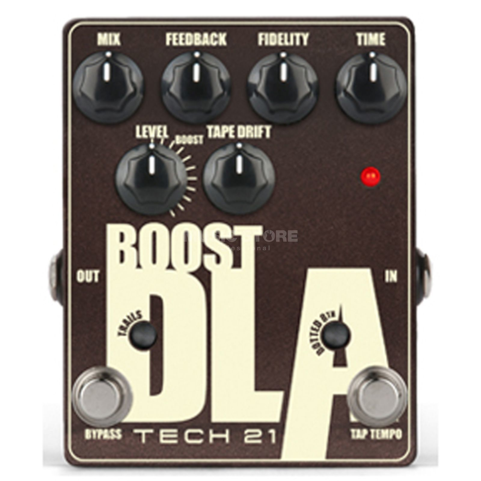Tech 21 Boost DLA2 Delay Pedal   B-Stock Produktbillede
