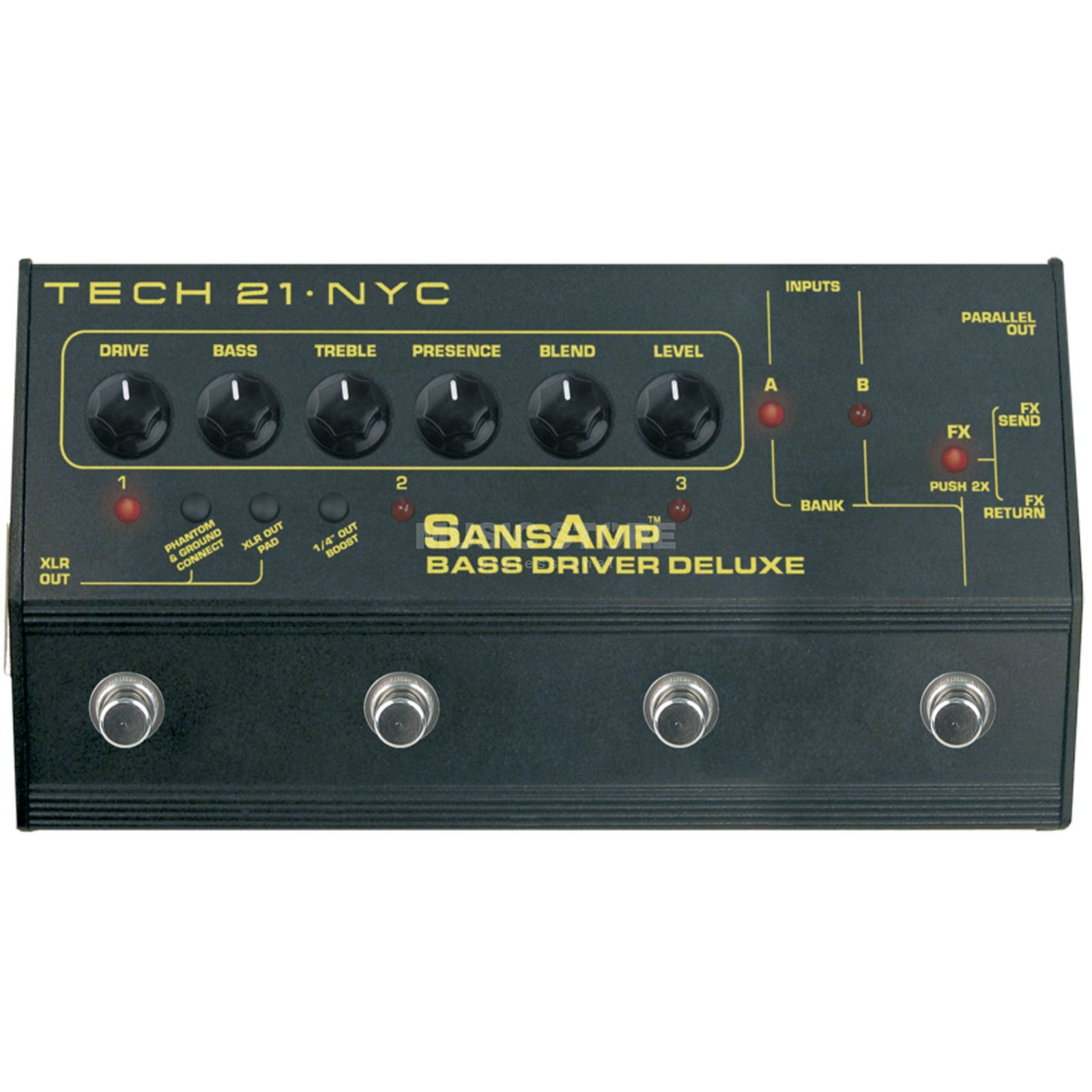 Tech 21 SansAmp Bass Driver Deluxe    Product Image