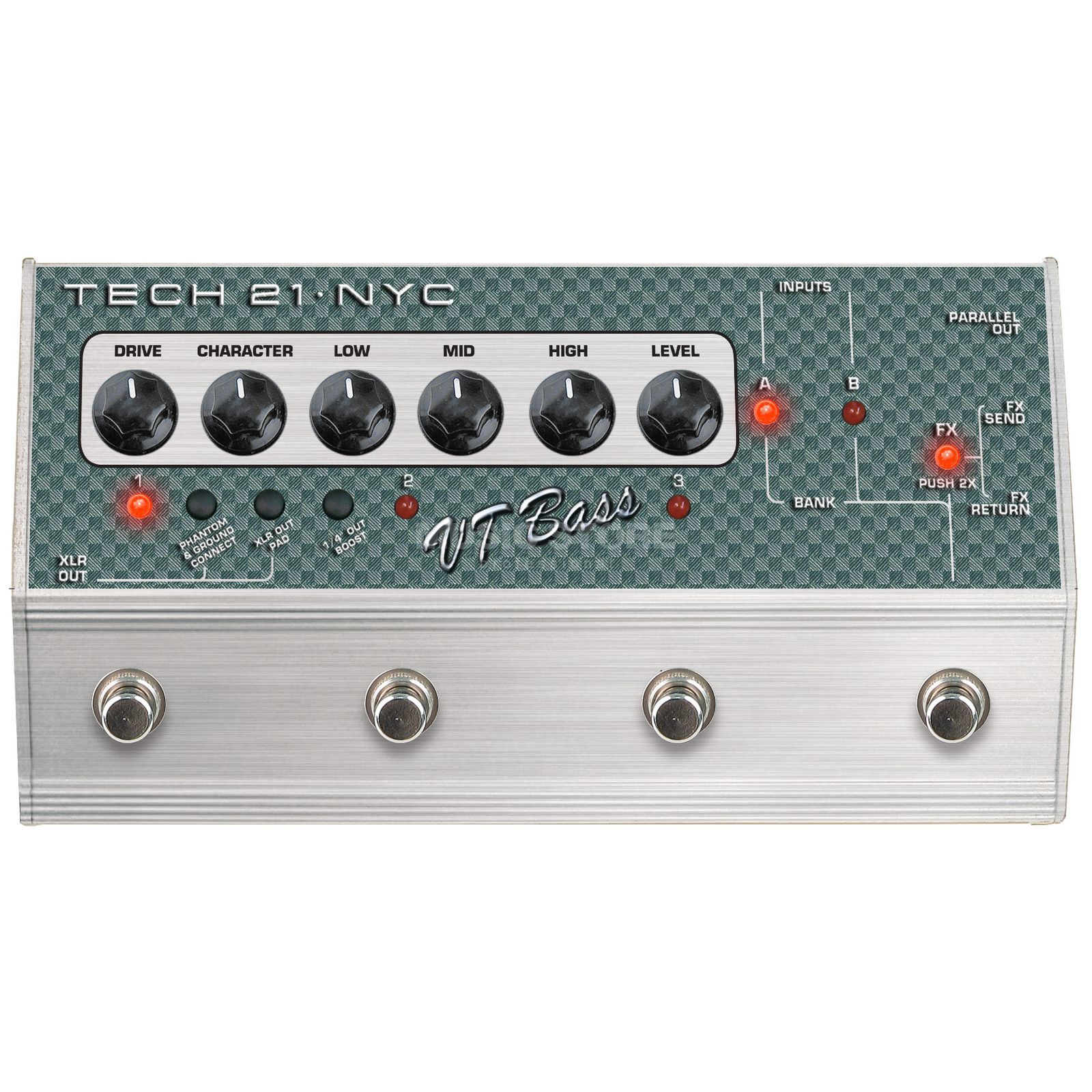 Tech 21 Sansamp VT Bass Deluxe    Product Image