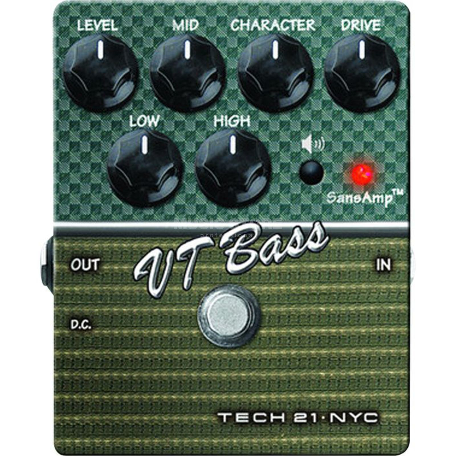 Tech 21 VT Bass V2 Pedal  Product Image