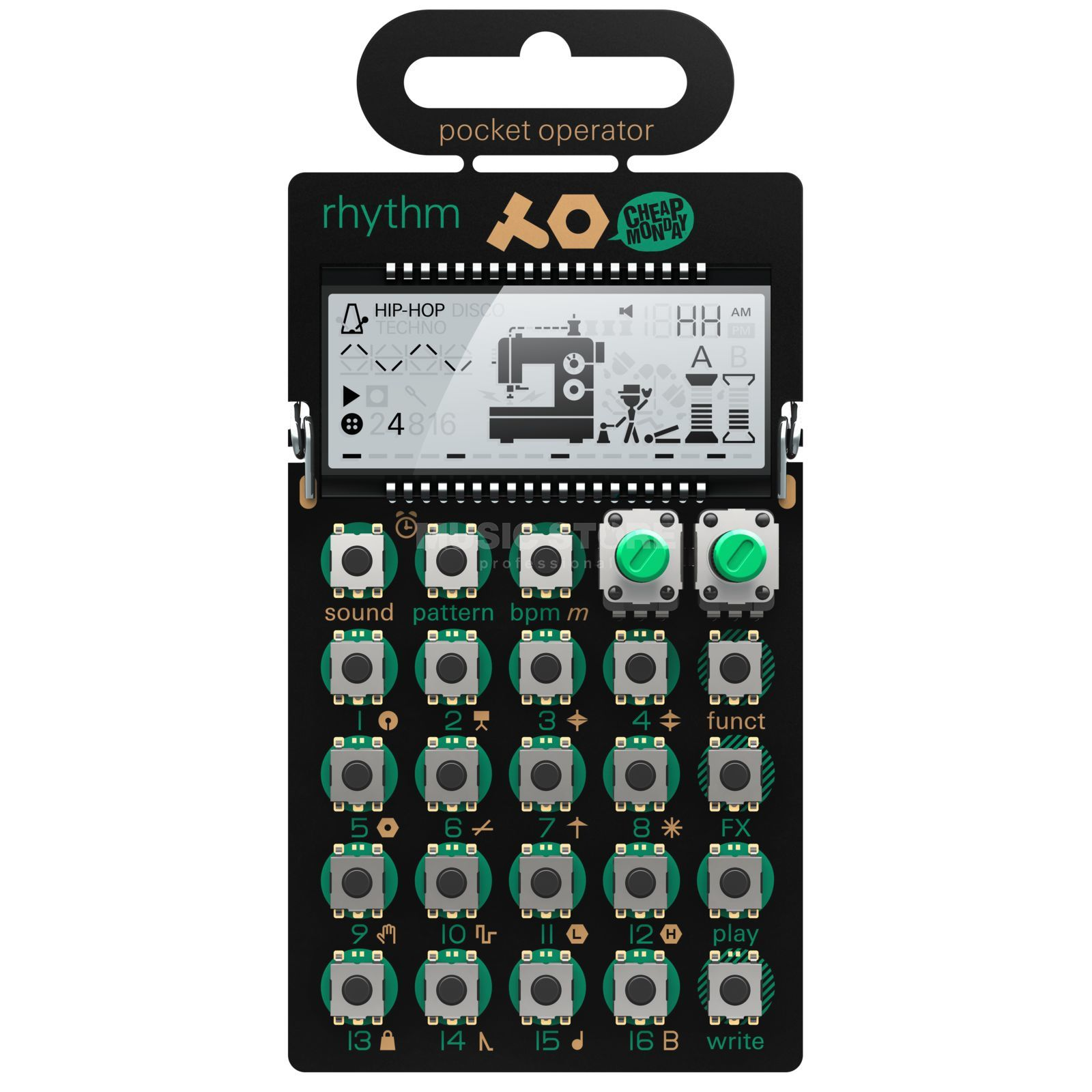 Teenage Engineering PO-12 rhytm Drum Machine Produktbillede