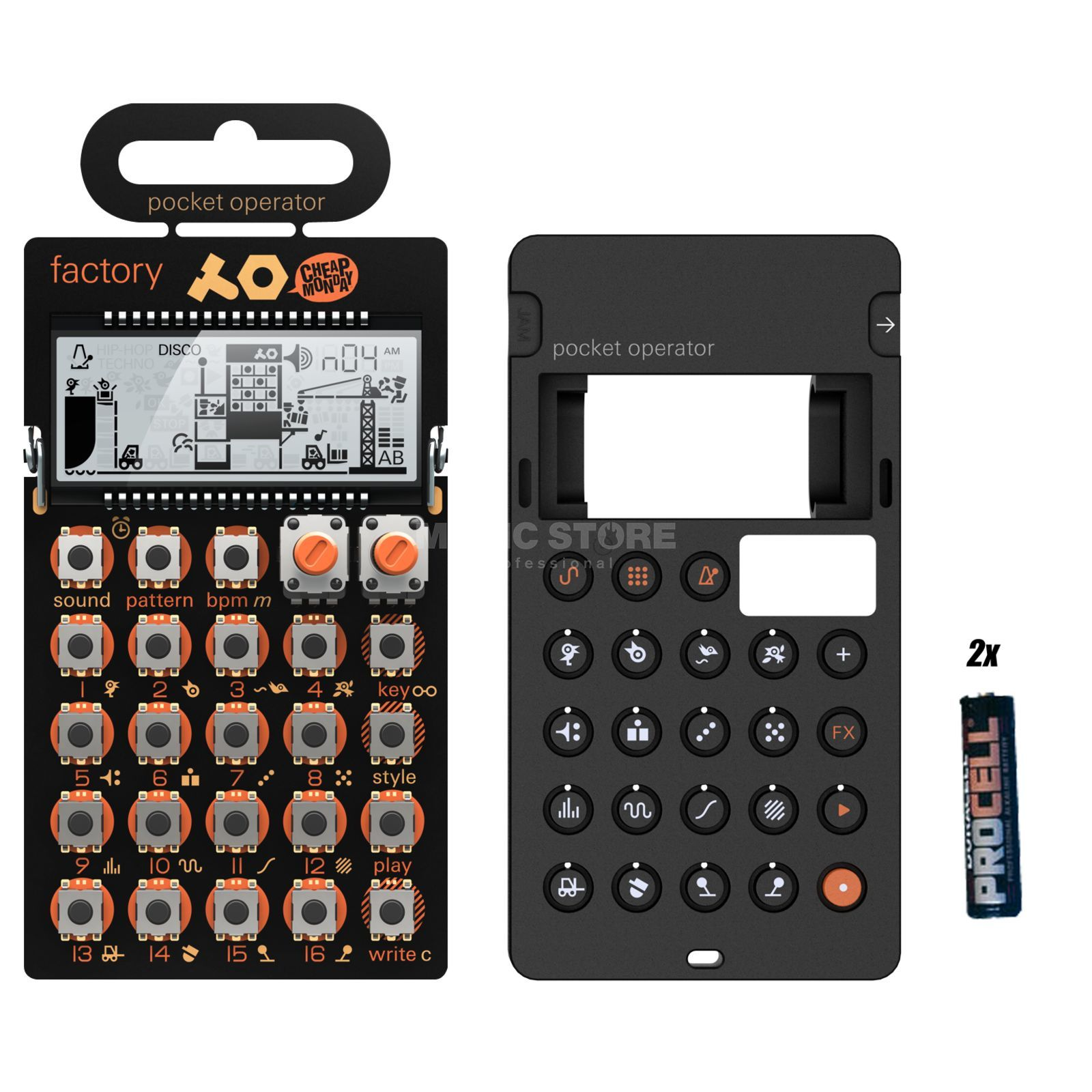 Teenage Engineering PO-16 factory Complete - Set Produktbild