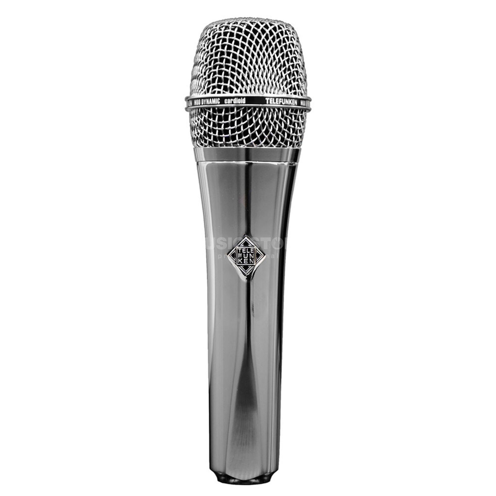 Telefunken M80 Dynamic Handheld Vocal Mic Limited Edition Chrome Product Image