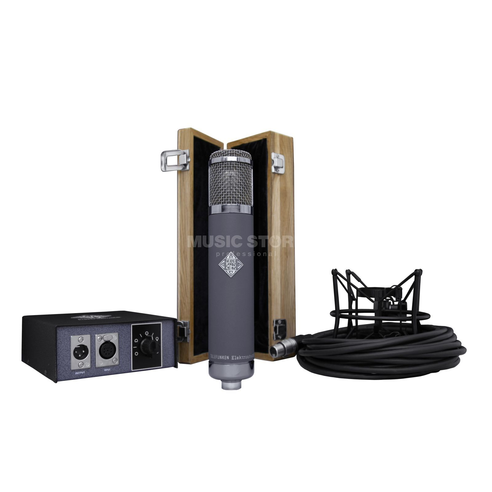 Telefunken R-F-T AR-51 Multi-Pattern Tube Condenser Microphone Product Image
