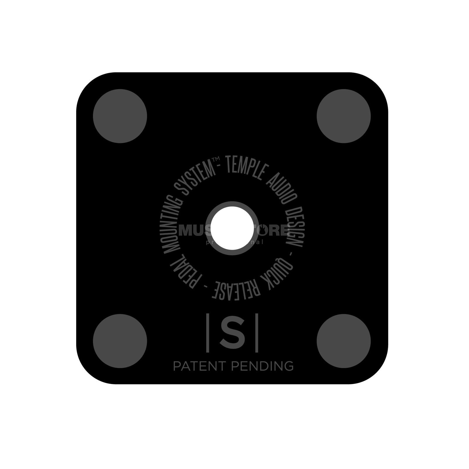 Temple Audio Design Small Mounting Plate Produktbild