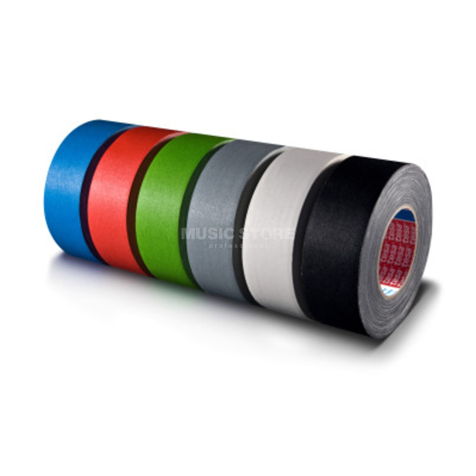 Tesa Highlight Gaffa Tape 4671 mattschwarz, 50m, 50mm Produktbillede