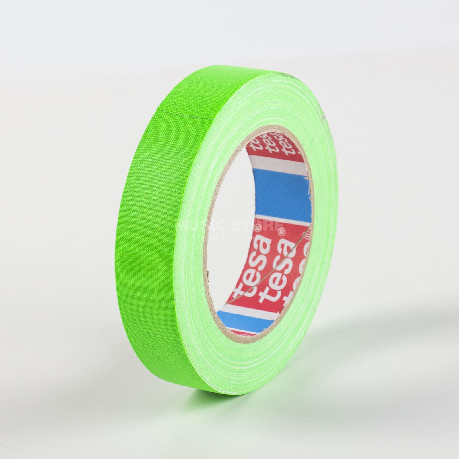 Tesa Highlight Gaffa Tape 4671 neongrün, 25m, 25mm Produktbillede