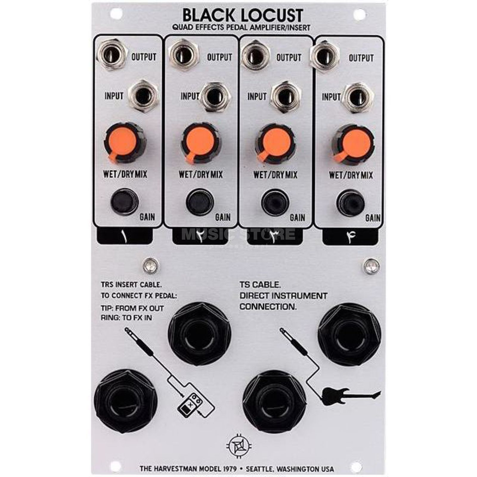 The Harvestman Black Locust Produktbild