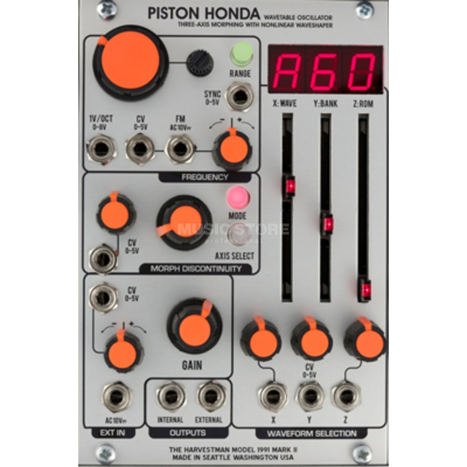 The Harvestman Piston Honda MK2 Wavetable Oscillator Image du produit