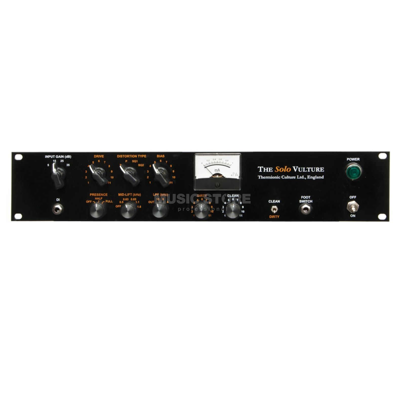 Thermionic Culture Culture Vulture Solo 1-Channel Valve Distortion Produktbillede
