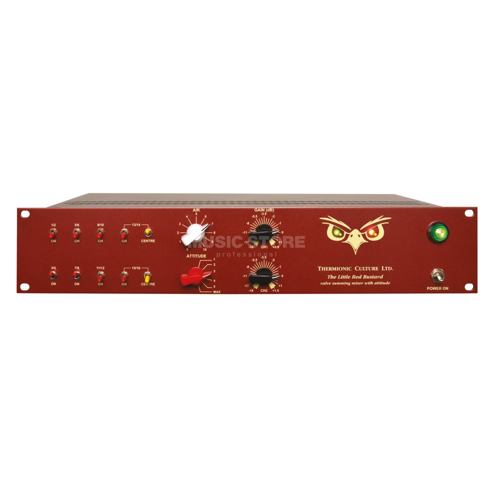 Thermionic Culture Little Red Bustard 16 Ch. Valve Summing Mixer Produktbild