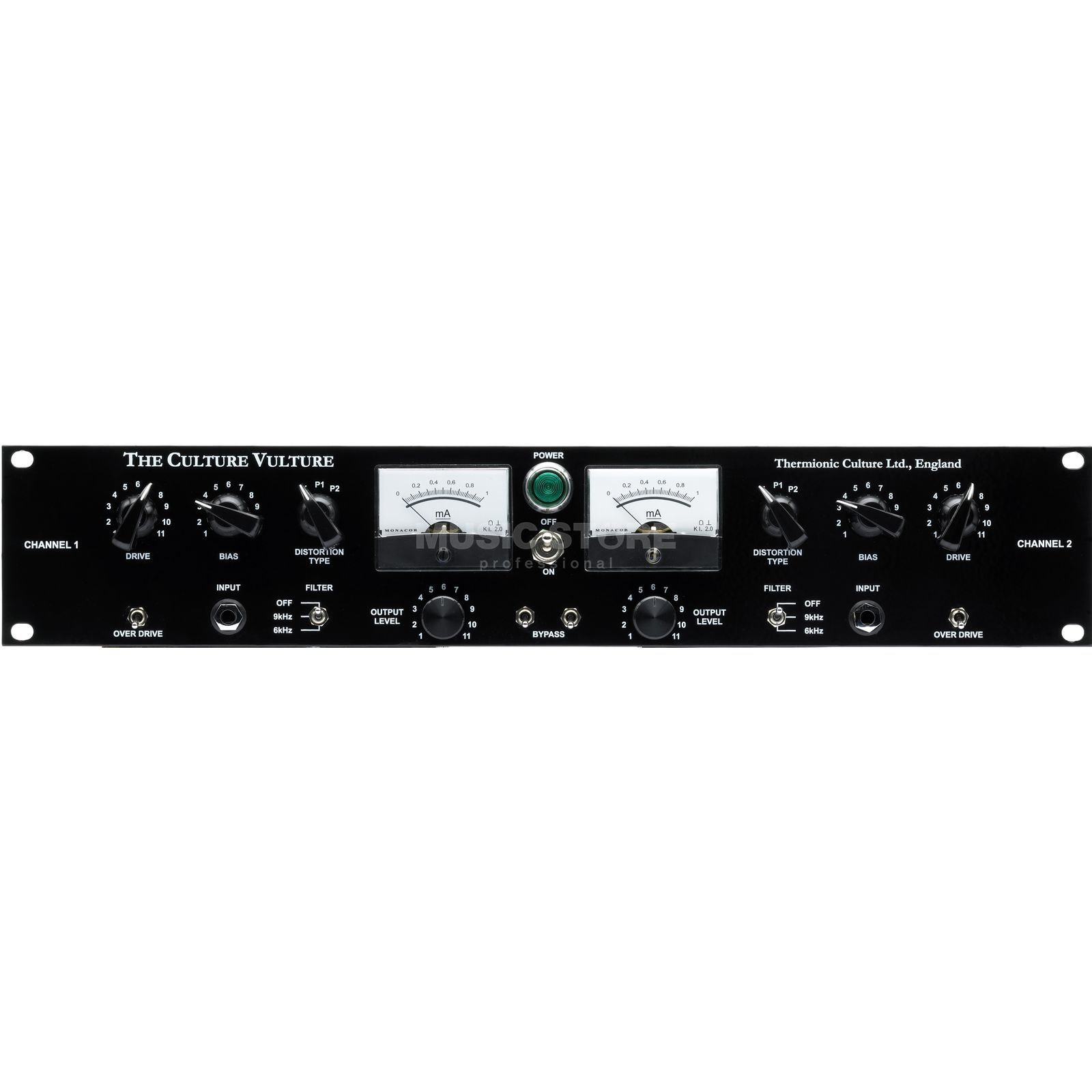 Thermionic Culture The Culture Vulture Stereo Valve Distortion Unit Product Image