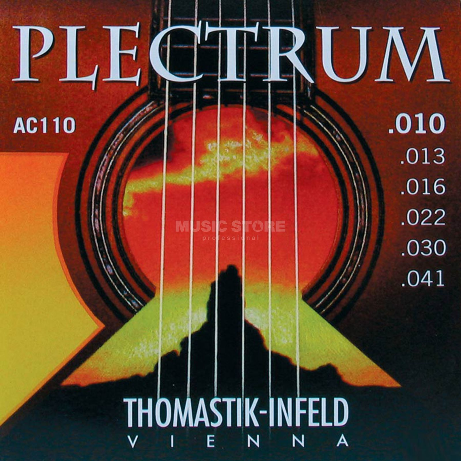 Thomastik AC 110 A-Saiten 10-41 Plectrum extra light Produktbild