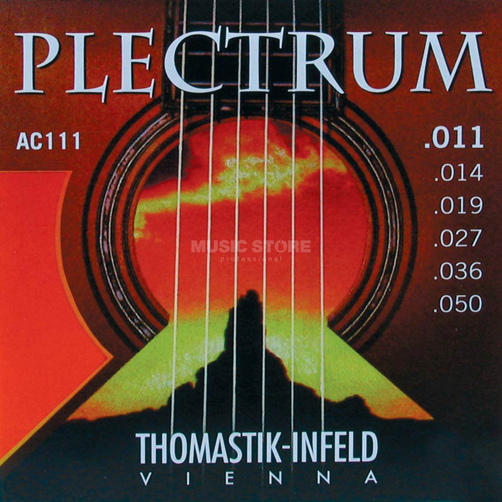 Thomastik AC 111 A-Saiten 11-50 Plectrum light Produktbillede