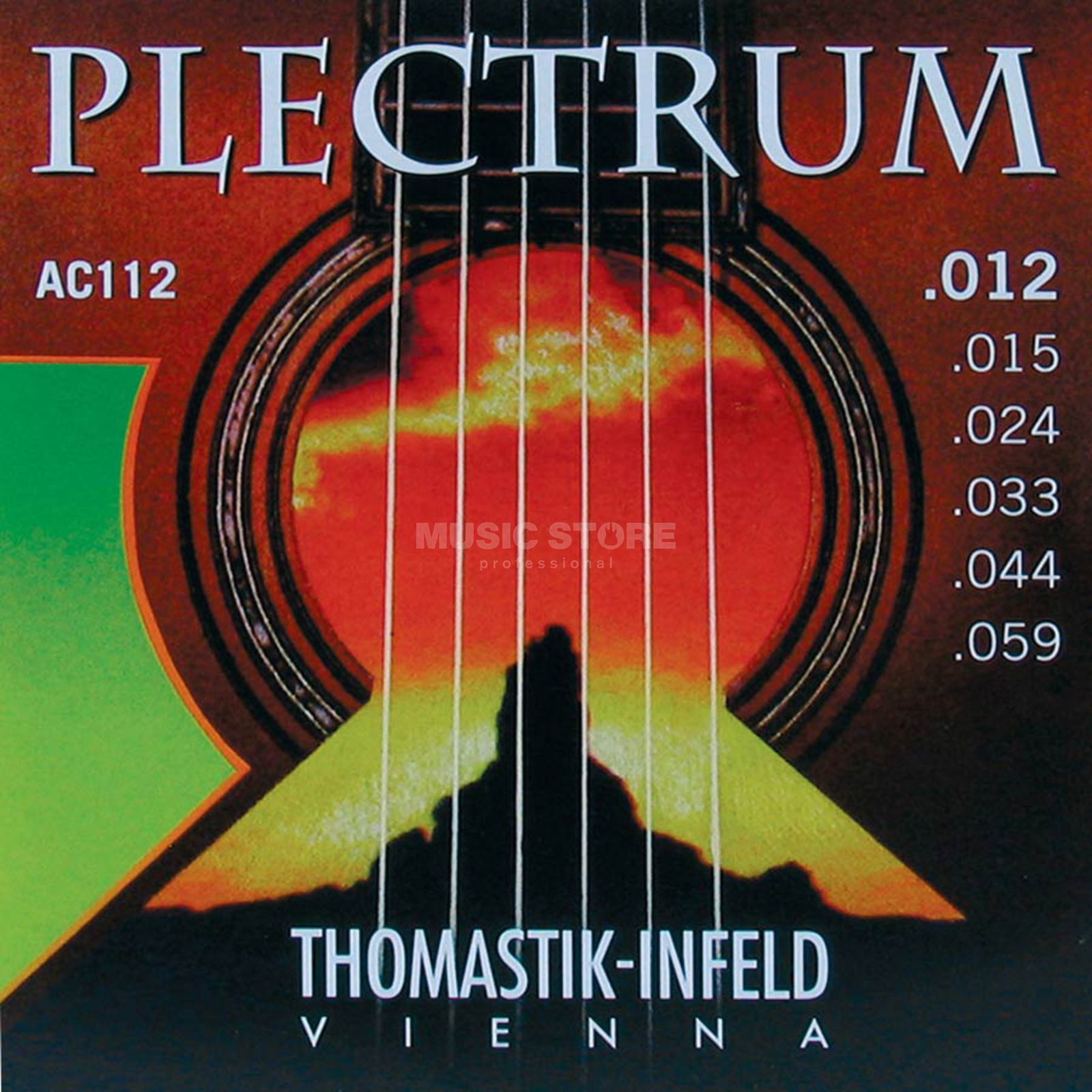 Thomastik AC 112 A-Saiten 12-59 Plectrum medium light Produktbild
