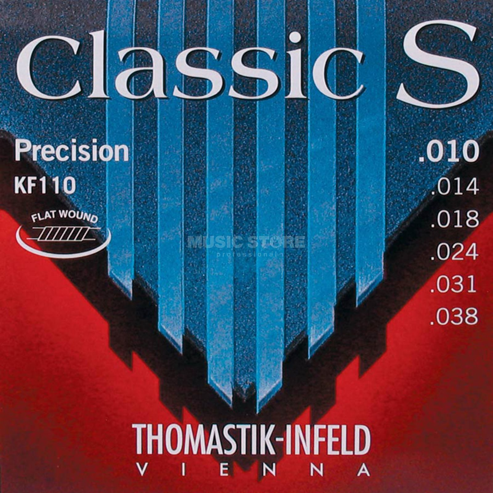 Thomastik Classic S Strings,  KF110  Precision, Flat Wound Product Image
