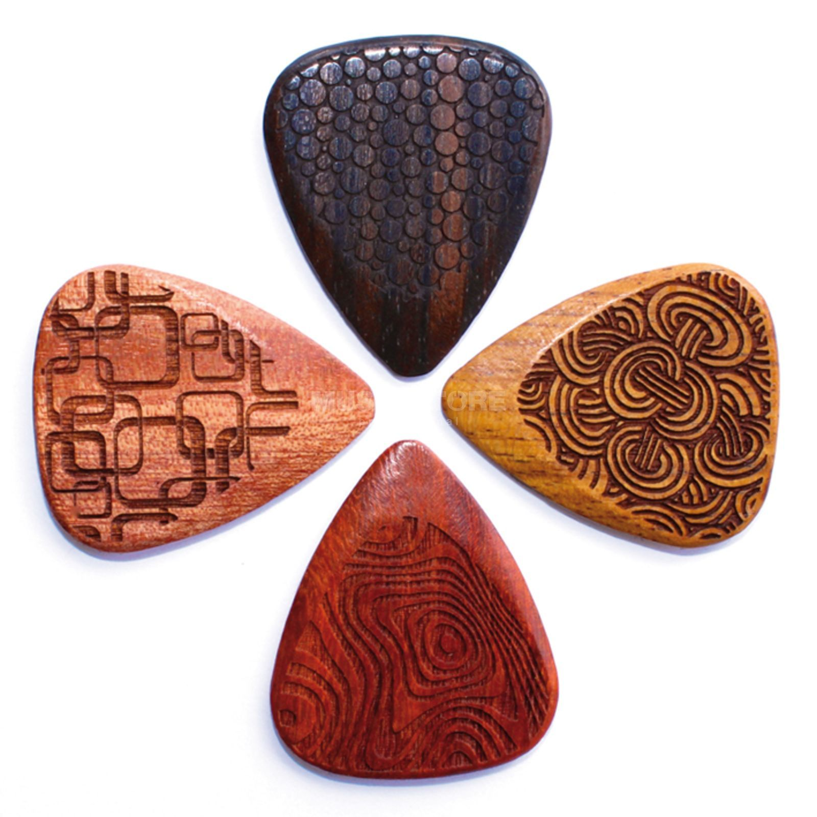 Timber Tones Laser Tones Grip Mixed Pack 4er Pack Produktbillede