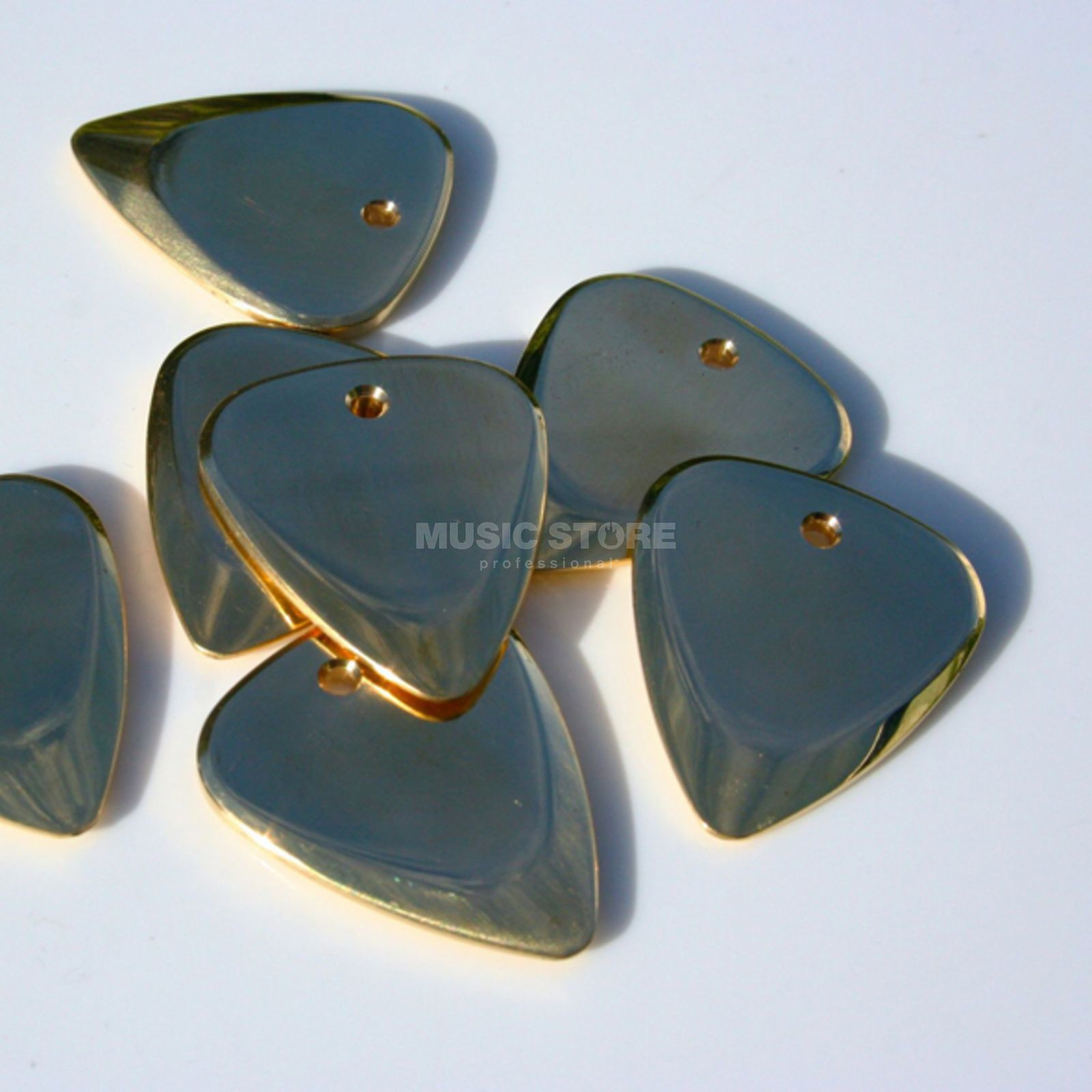 Timber Tones Metal Tones Brass Picks Produktbillede