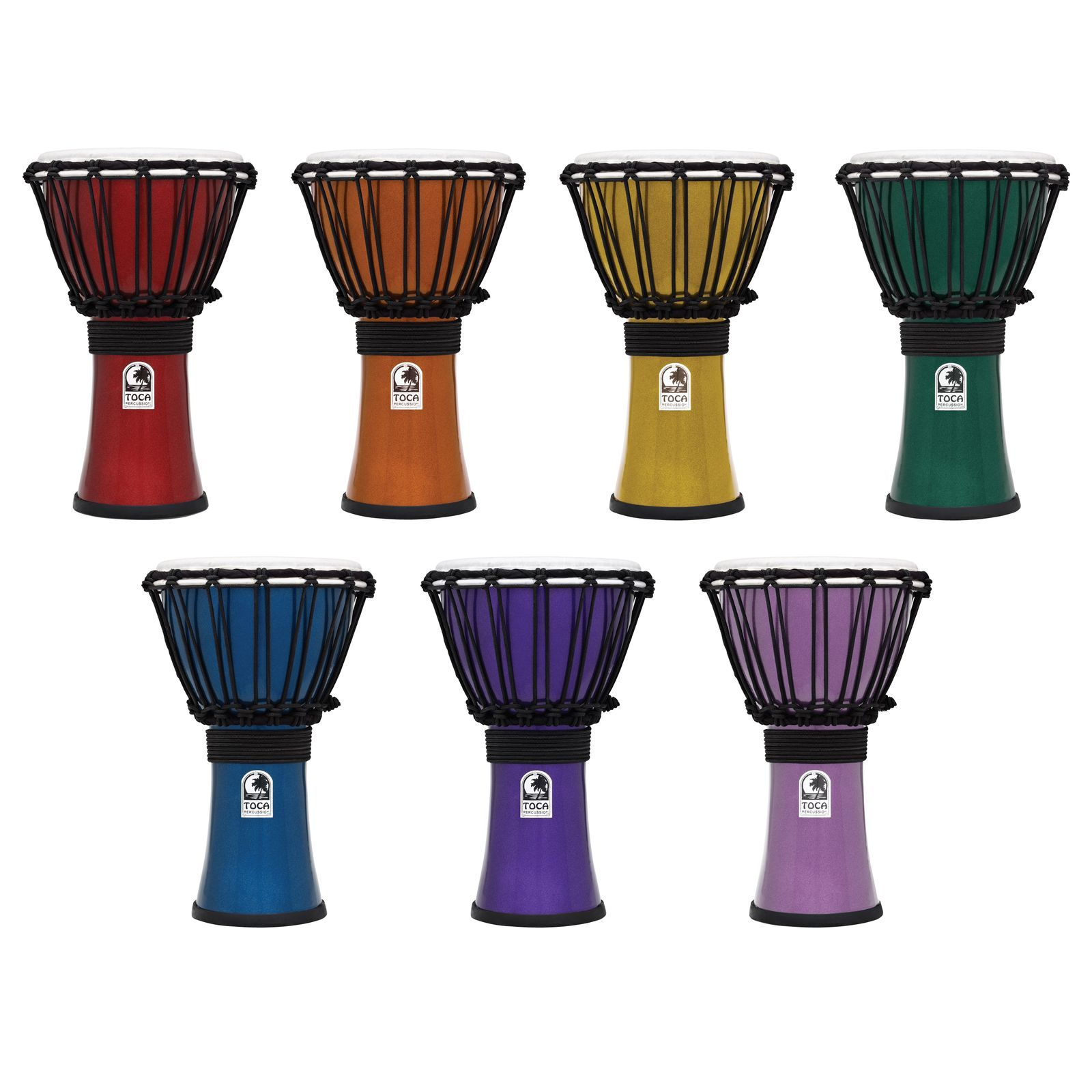 TOCA Color Sound Djembe - Set Produktbild