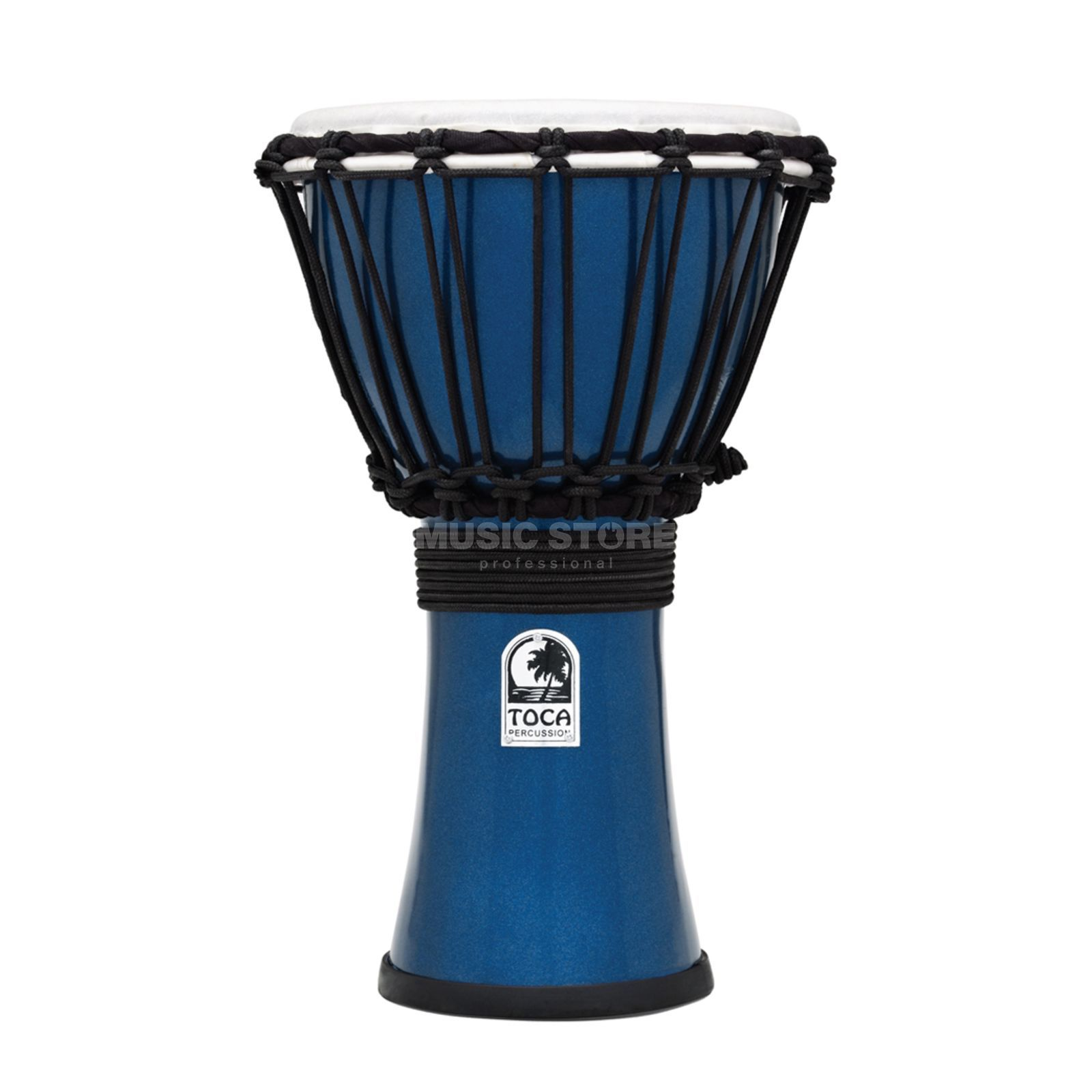 "Toca Percussion ColorSound Djembe TFCDJ-7MB, 7"", Blue Produktbillede"