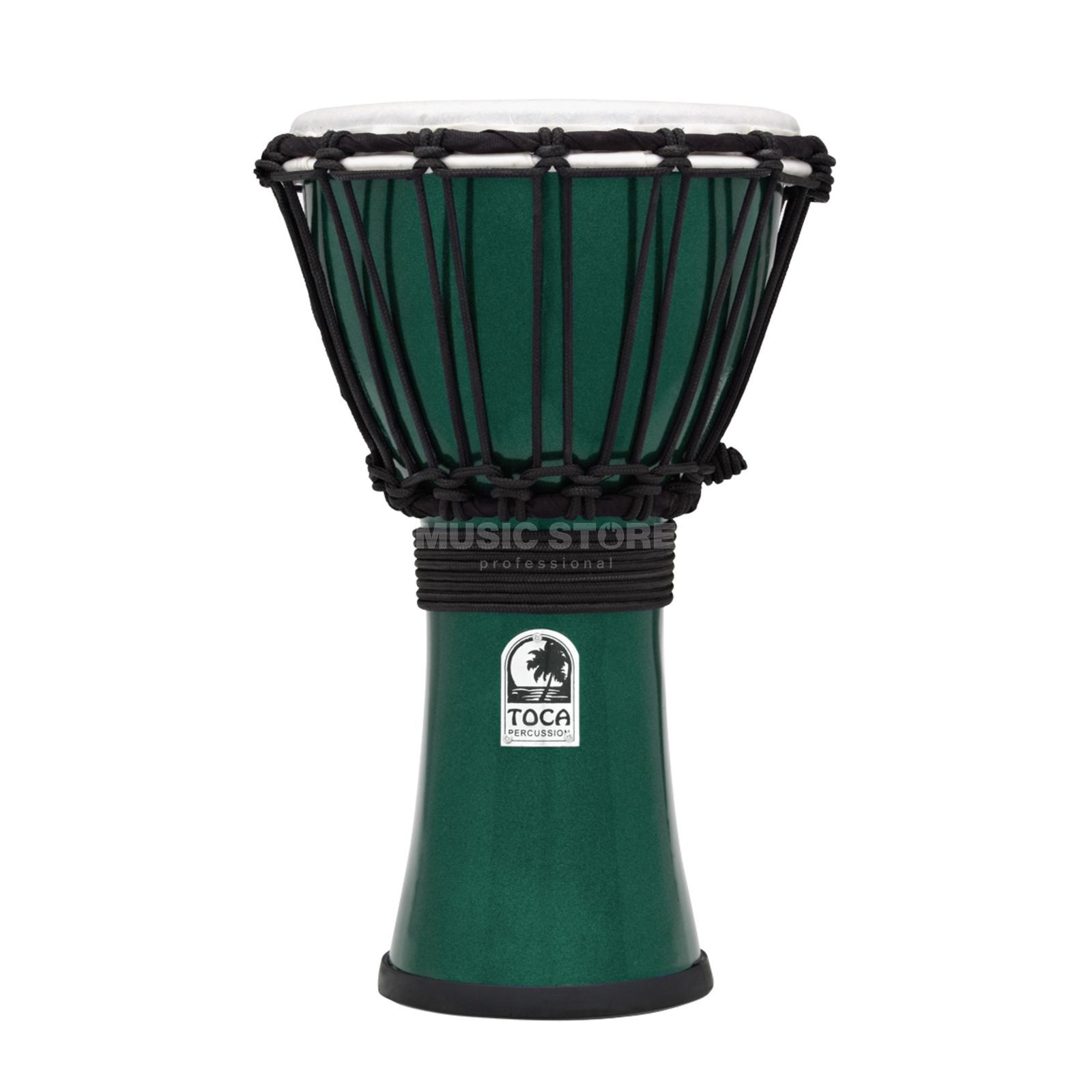 "Toca Percussion ColorSound Djembe TFCDJ-7MG, 7"", Green Изображение товара"