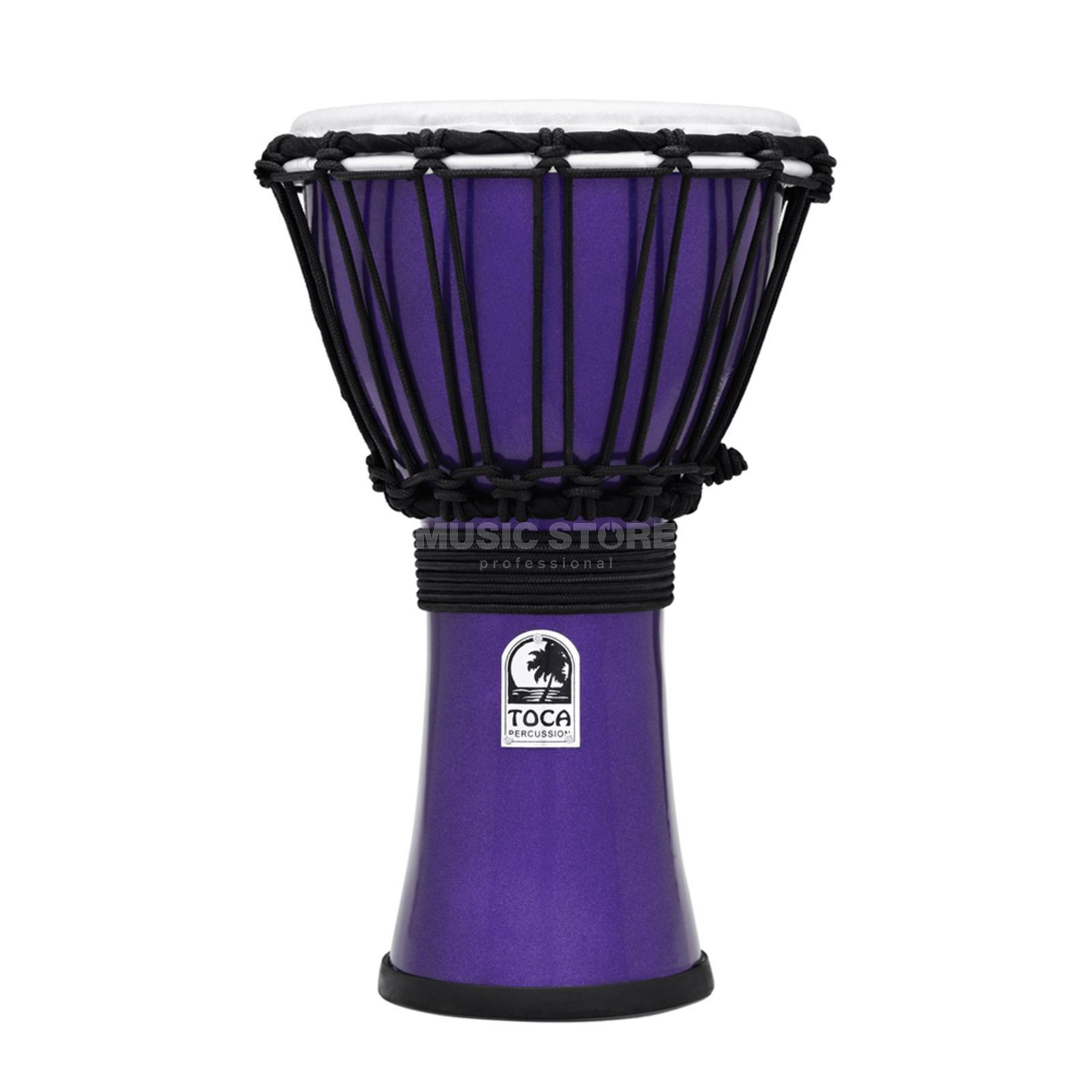 "Toca Percussion ColorSound Djembe TFCDJ-7MI, 7"", Indigo Produktbild"