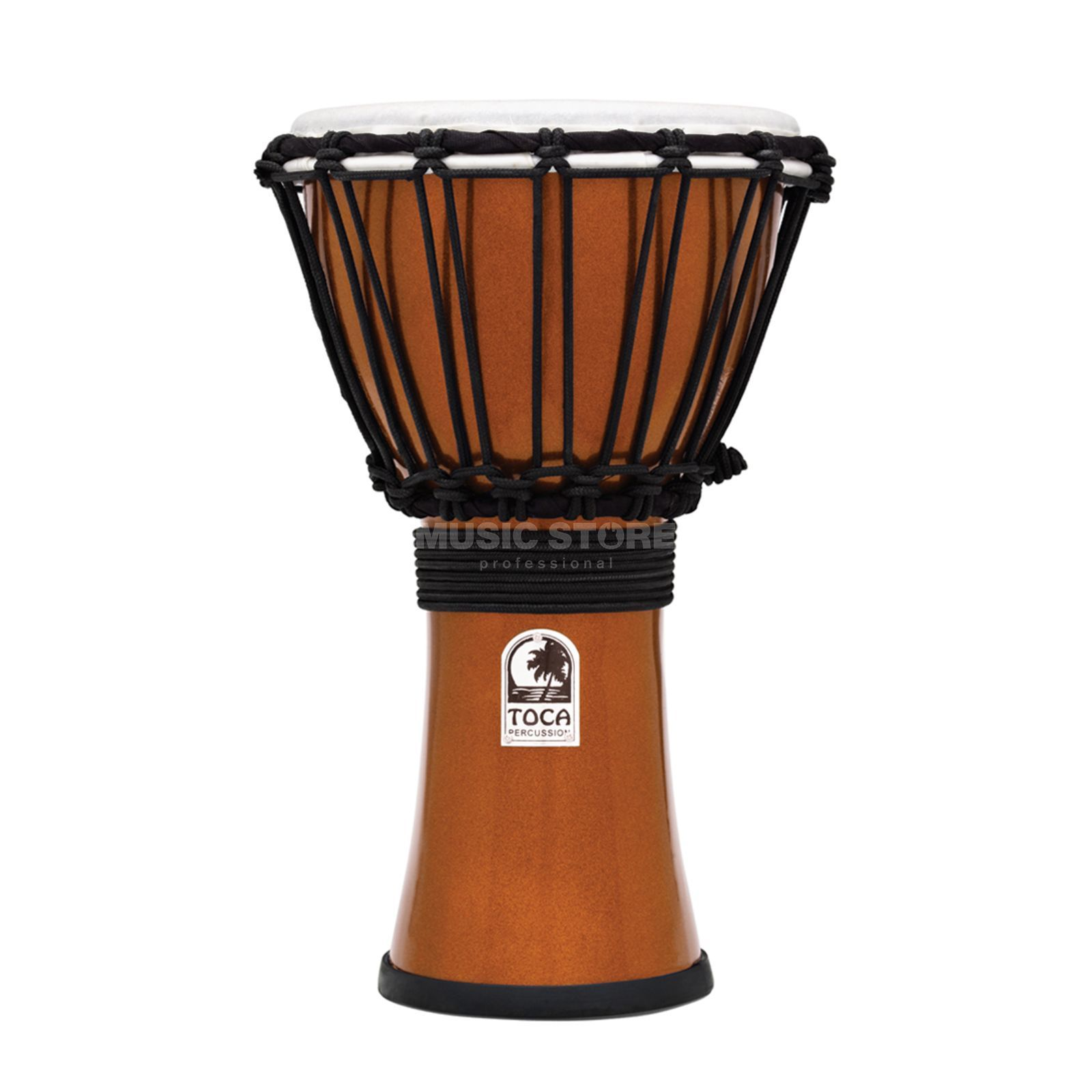 "Toca Percussion ColorSound Djembe TFCDJ-7MO, 7"", Orange Produktbild"