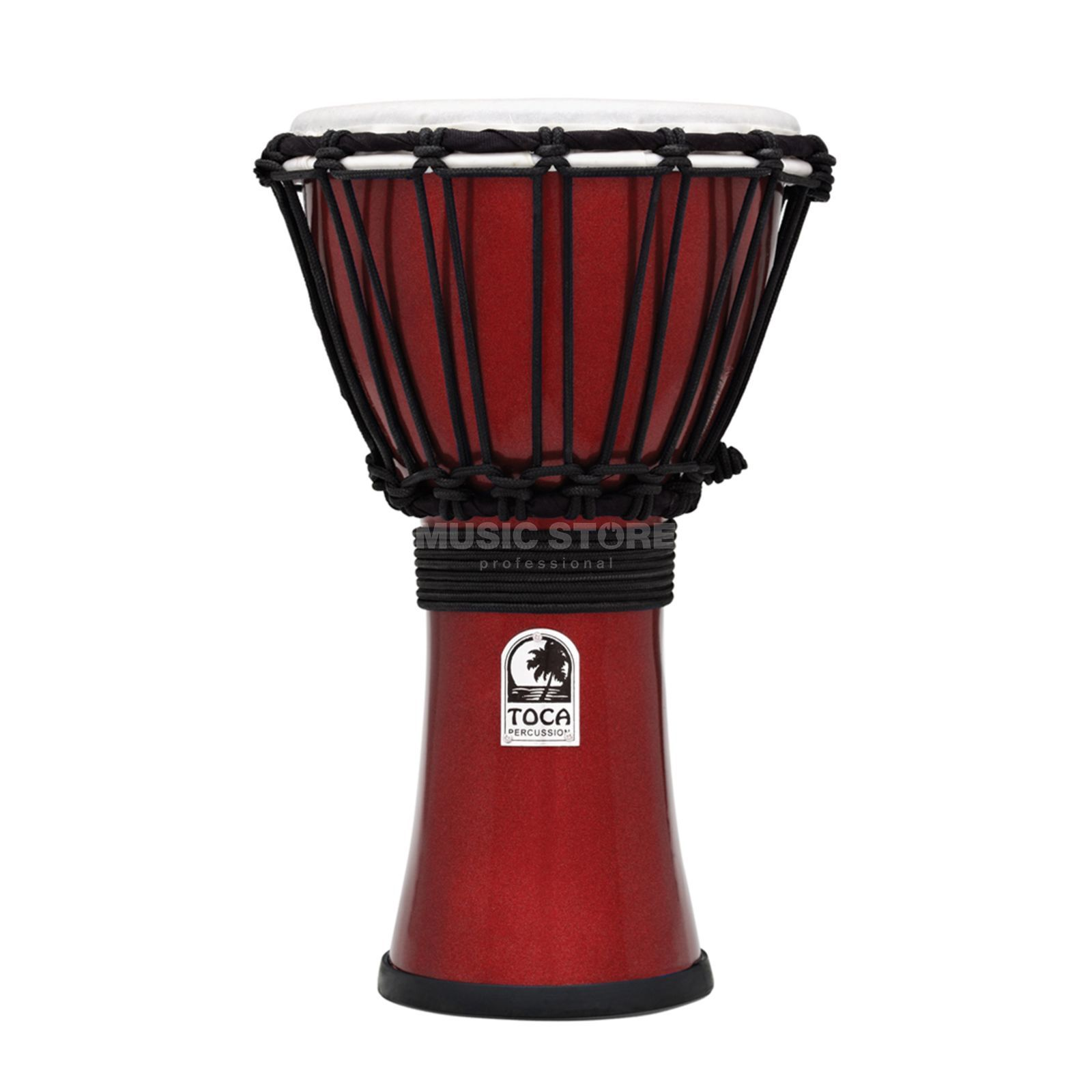 "Toca Percussion ColorSound Djembe TFCDJ-7MR, 7"", Red Produktbild"