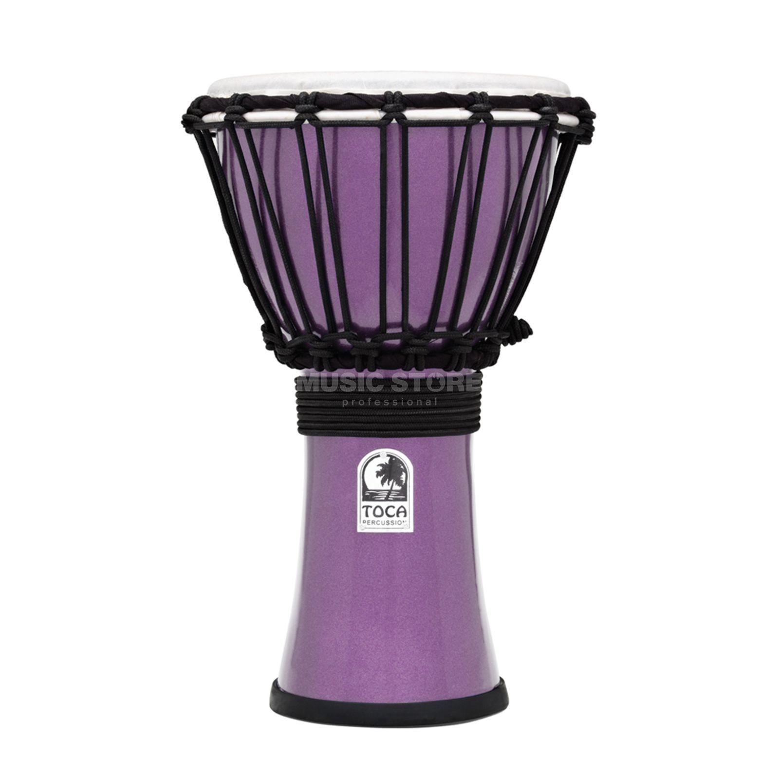 "Toca Percussion ColorSound Djembe TFCDJ-7MV, 7"", Violet Productafbeelding"