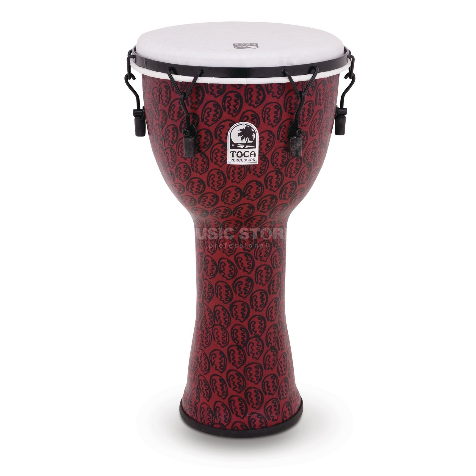 "Toca Percussion Djembé Freestyle  TF2DM-10RM, 10"", Red Mask Image du produit"