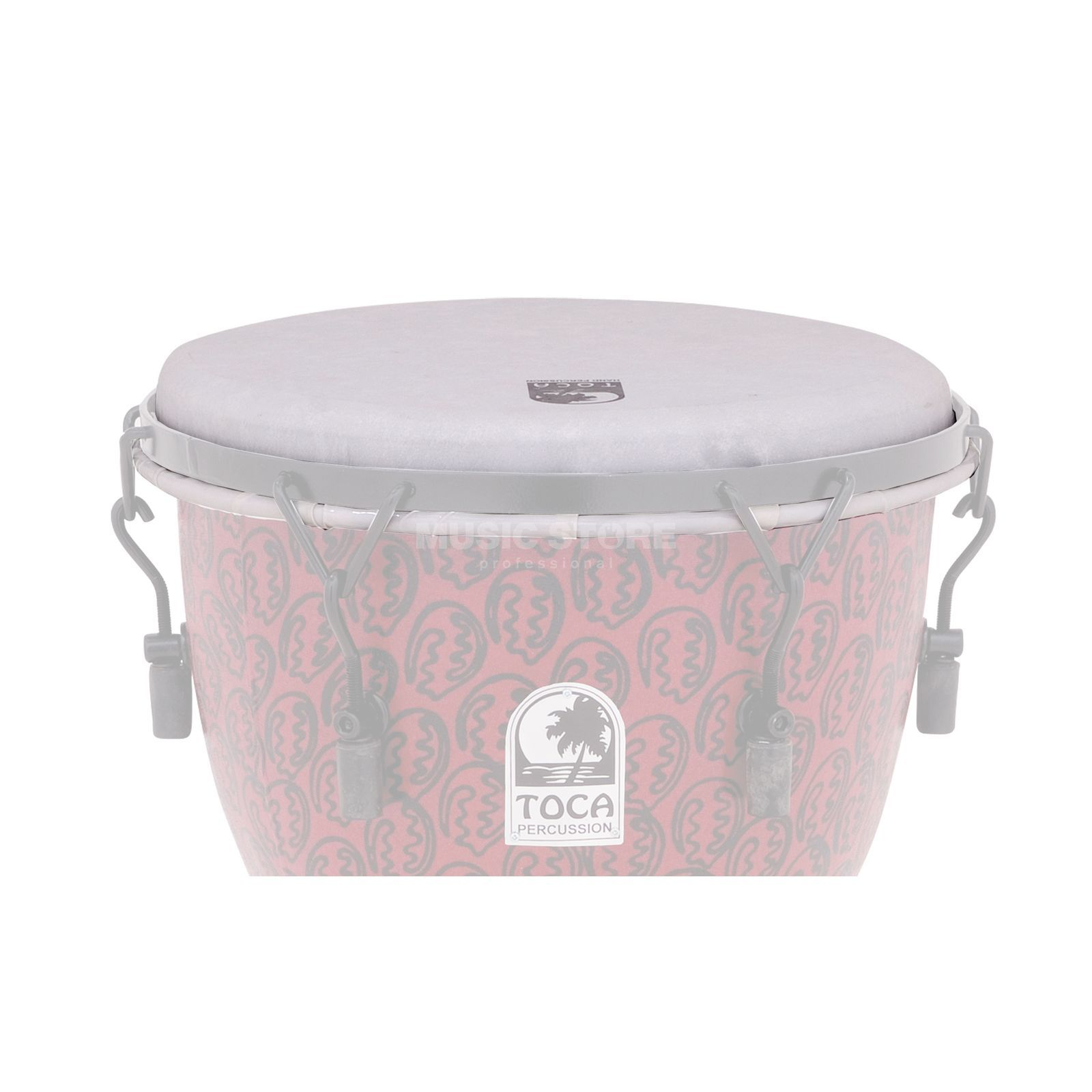 "Toca Percussion Djembe Head 12"", f. Freestyle Djembes TF2DM Produktbillede"